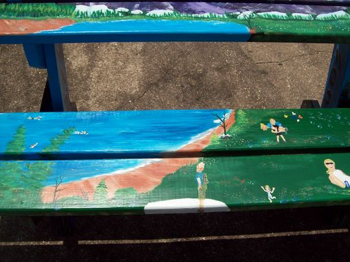 Custom Made Picnic Bench / Table