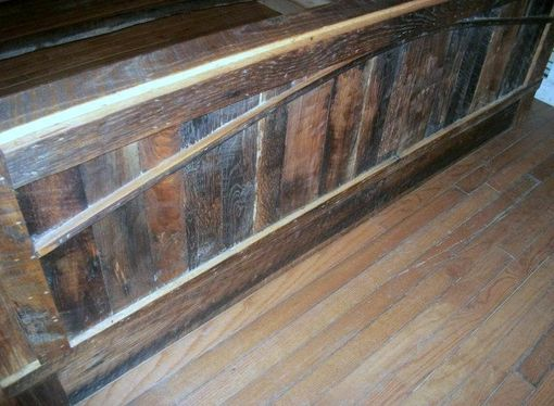Custom Made Reclaimed Wood Bed