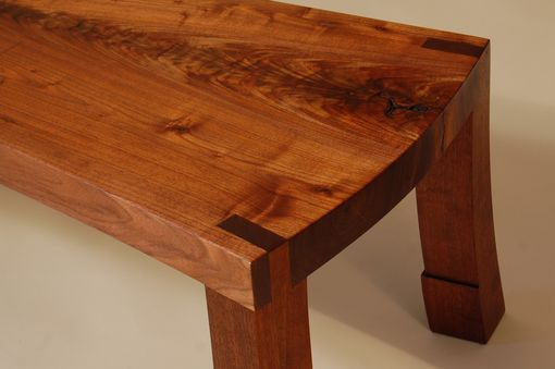 Custom Made Curved Brooklyn Coffee Table / Bench