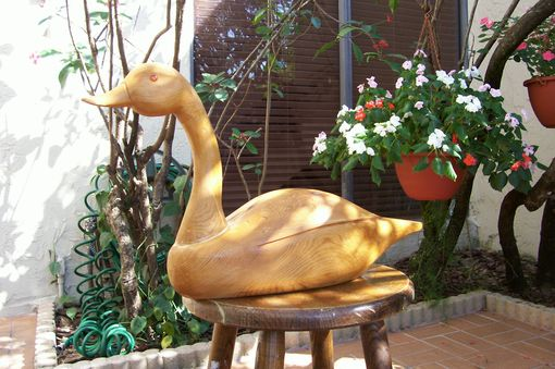 Custom Made Folk Art Goose