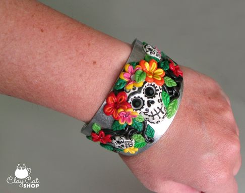 Custom Made Day Of The Dead Cuff