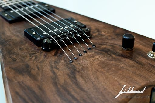Custom Made Walnut V Guitar