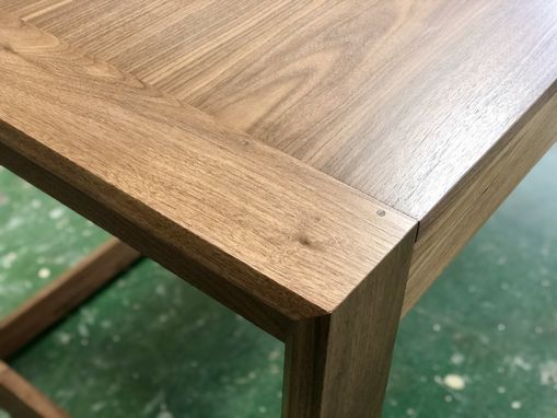 Custom Made Modern Walnut Desk