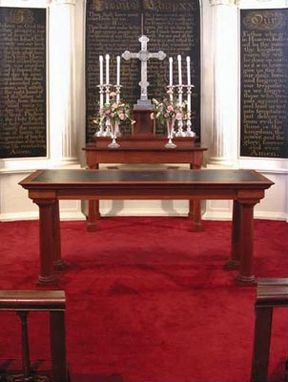 Custom Made Liturgical Table