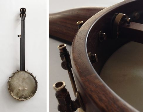 Custom Made Banjo No.5 : The Camberwell Fretless