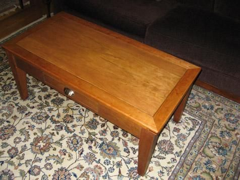 custom made coffee game table with reversible top by. Black Bedroom Furniture Sets. Home Design Ideas