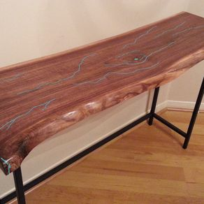 Amazing Reclaimed Wood Entry Tables Hall Tables And Accent Tables Caraccident5 Cool Chair Designs And Ideas Caraccident5Info