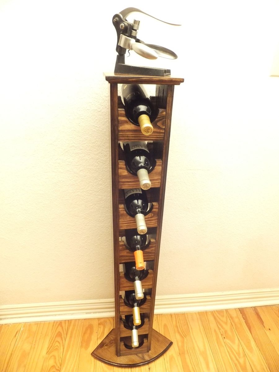 A Hand Crafted Tall Skinny Wine Rack Made To Order From Thh Creations Custommade