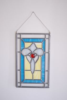 Custom Made Custom Stained Glass Panel Price Reduction