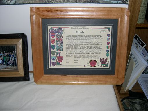 Custom Made Picture Frames