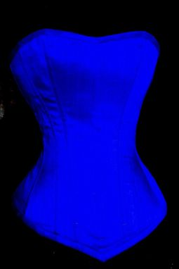 Custom Made Something Blue Corset