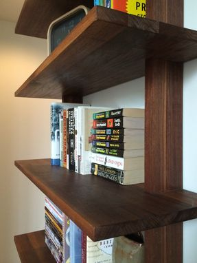 Custom Made Minimalist Bookshelf