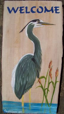 Custom Made Rustic Wood Wildlife Welcome Boards Painted To Order