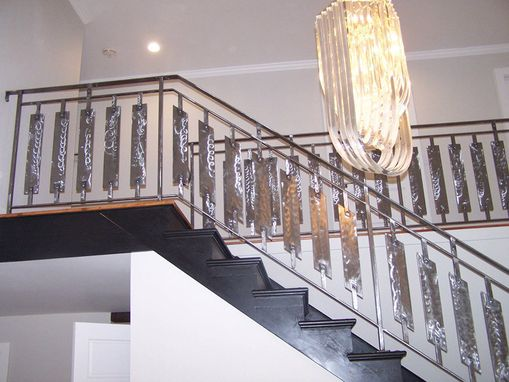 Custom Made Modern Interior Railing