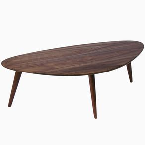 Oliver Modern Walnut Coffee Table