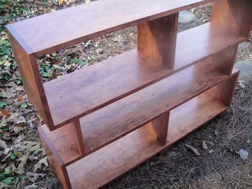Custom Made Mr2 Custom Bookcase Cherry Mid Century