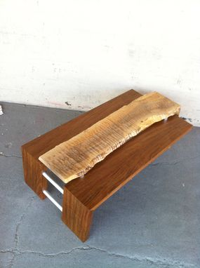 Custom Made Waterfall Coffee Table