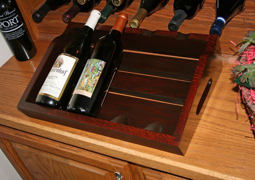 Custom Made Presentation Wine Rack