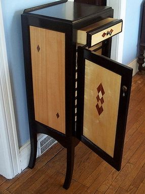 Custom Made Sheet Music Cabinet