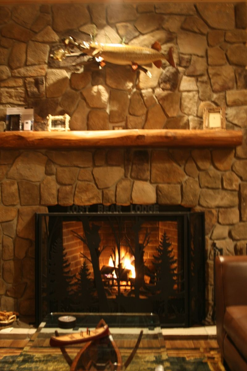Custom 3 Section Fireplace Screen By Naturerails Llc Custommade Com
