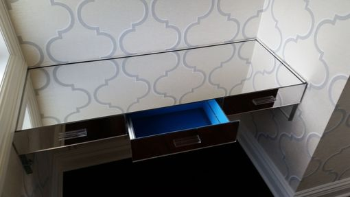Custom Made Acrylic Wall Mount Desk - Hand Crafted Made To Order, Several Finishes To Choose From