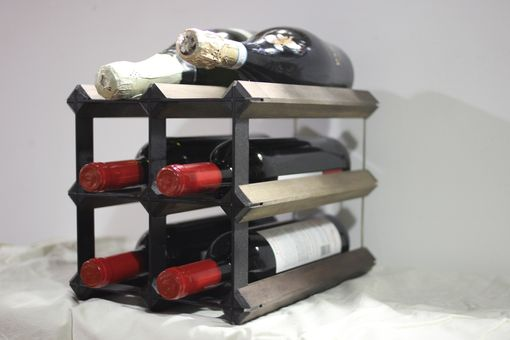 Custom Made Countertop Wine Rack