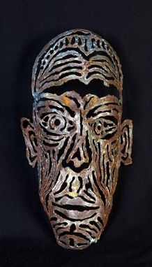 Custom Made Cut Steel Decorative Masks