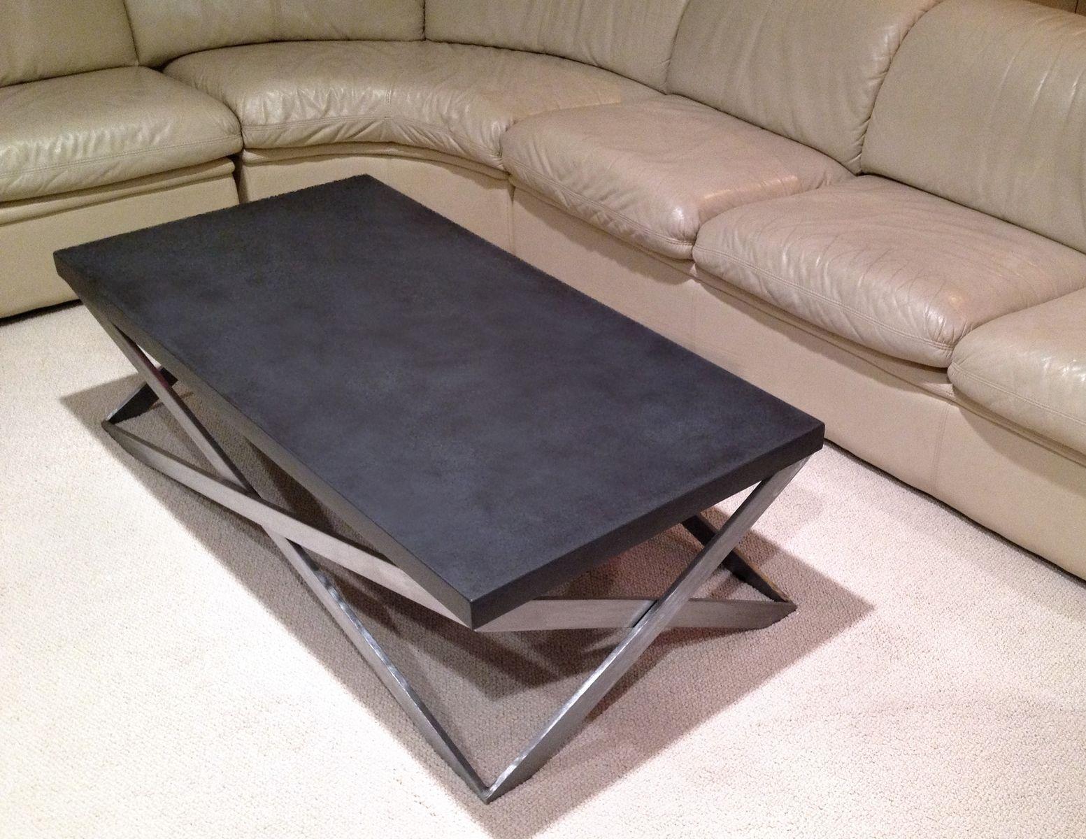 Custom Mobius Concrete Coffee Table By Trueform Custommade