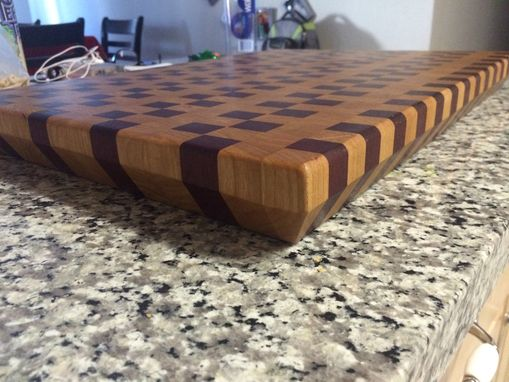 Custom Made Butcher Block Cutting Board