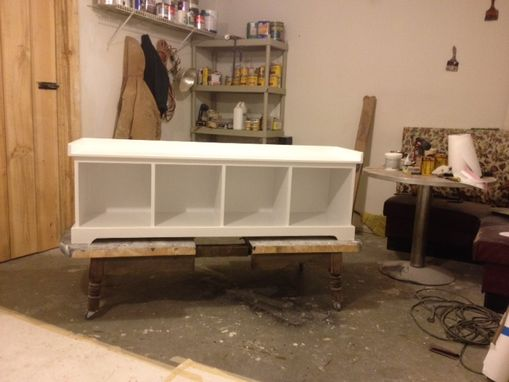 Custom Made Entryway Storage Bench