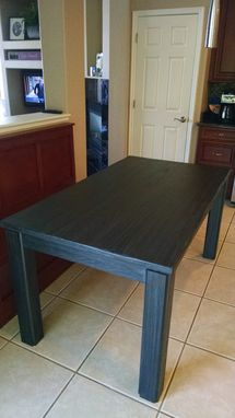 Custom Made Custom Bench And Oak Table