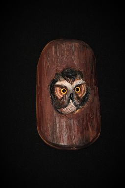 Custom Made Wood Carving -Bird Carving - Ooak -  Hand Carved And Sculpted