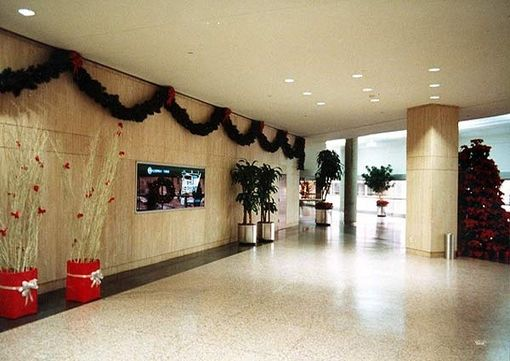 Custom Made Travertine Newark Gateway Building