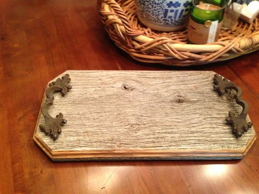 Custom Made Barn Wood Tray