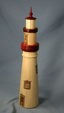 Custom Made Lighthouse Beer Tap Handle