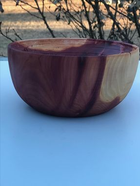 Custom Made Western Red Ceder Bowl