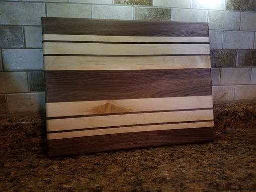 Custom Made Walnut/Maple Cutting Board