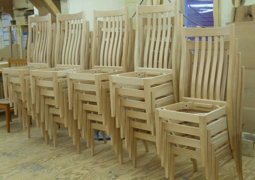 Custom Made Stacking Chairs