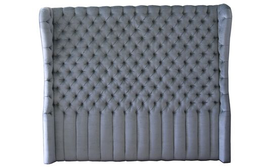 Custom Made Velvet Tufted Headboard