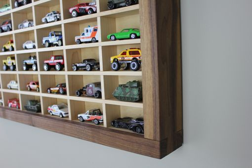 Custom Made Toy Car (Matchbox) Display Shelf