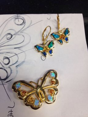 Custom Made Custommade Butterfly Pendant For Travis