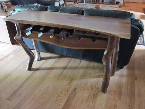 Custom Made Wine Table