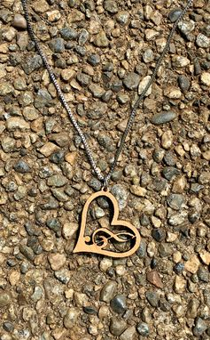 Custom Made Love & Music Bamboo Necklace