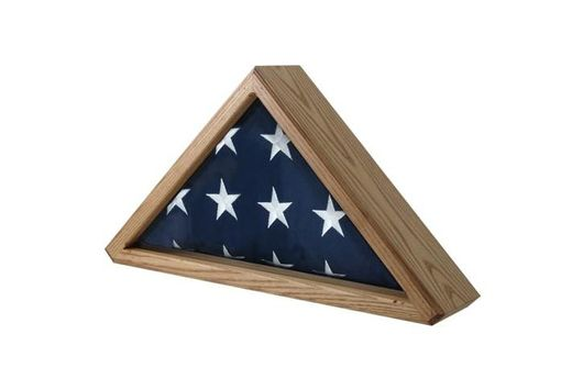 Custom Made Flag Case For 5ft X 9.5ft Flag - Burial Flag Case
