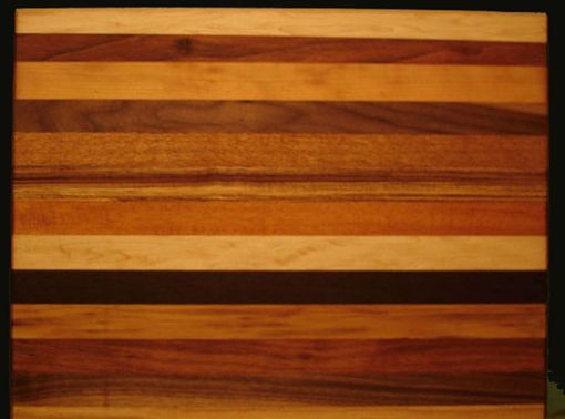 Custom Made Large Hardwood Cutting Board