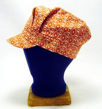 Custom Made Snappy Orange Engineer Hat