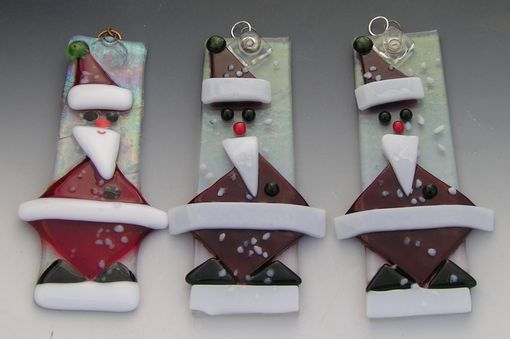 Custom Made Santa Ornaments