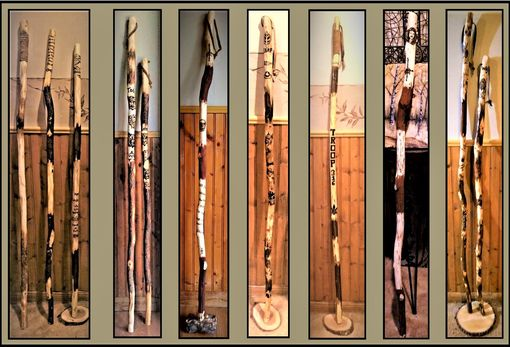 Custom Made Hiking Stick,Wood Anniversary Gift For Him,Anniversary Gift,Husband Gift,Hiker Gift,Retirement Gift,