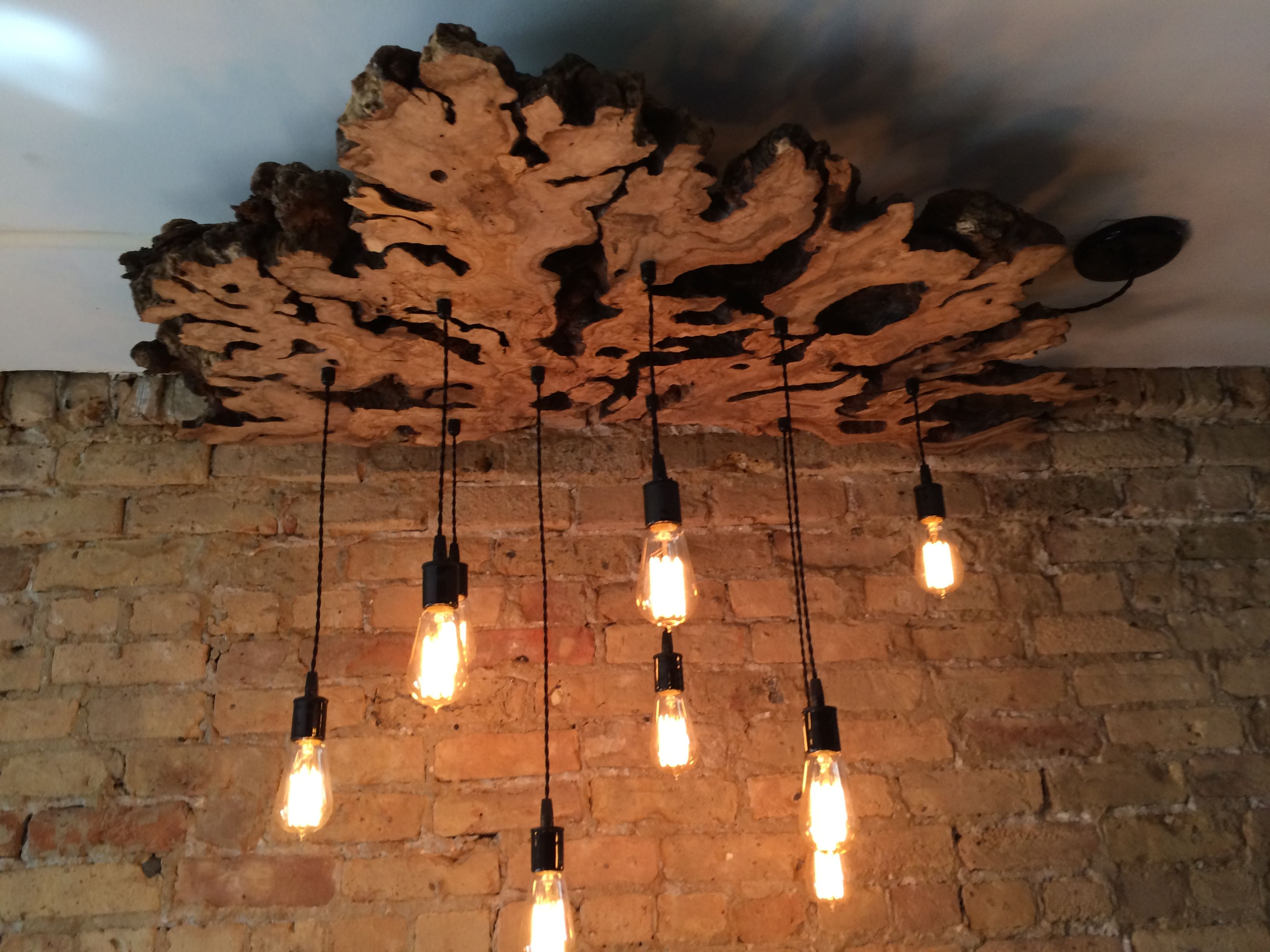 Hand made large live edge olive wood chandelier with edison bulbs custom made large live edge olive wood chandelier with edison bulbsrustic aloadofball Image collections