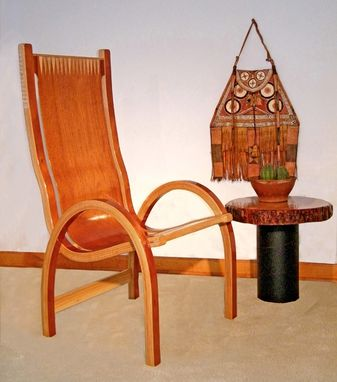 Custom Made Joki Chair Model D: Wood/Veneer